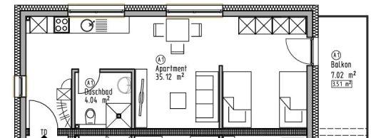 Appartement 1 - Wohn- und Geschäftshaus Ilshofen