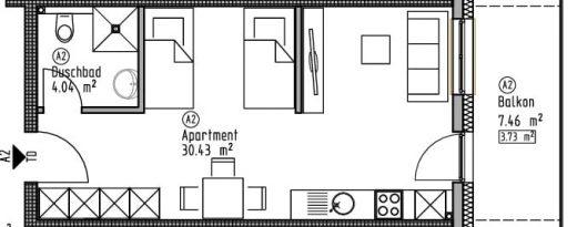Appartement 2 - Wohn- und Geschäftshaus Ilshofen