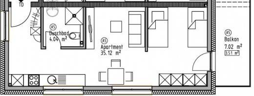 Appartement 5 - Wohn- und Geschäftshaus Ilshofen
