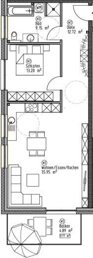 Wohnung 2 - Wohn- und Geschäftshaus Ilshofen