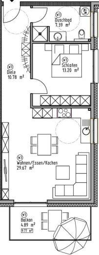 Wohnung 3 - Wohn- und Geschäftshaus Ilshofen
