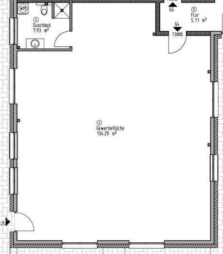 Gewerbefläche 4 - Wohn- und Geschäftshaus Ilshofen